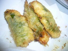 ~胸肉で天ぷら~みそ味バージョン