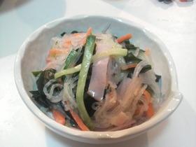 ほんのり中華な酢の物サラダ