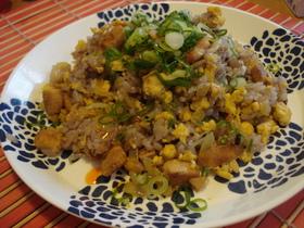 雑穀米で*エスニック炒飯