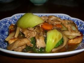 豆腐の黄金焼き とろ~り野菜あんかけ