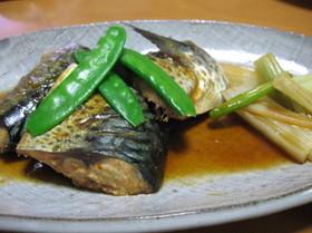 鯖のコチュジャン煮