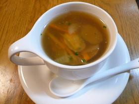 あさりと香味野菜のジュリエンヌスープ