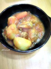 チキンのトマト煮込みの写真