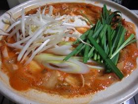 年中食べたい!美味っ辛☆キムチ鍋☆