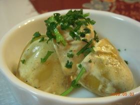ジャガ芋のオーブン焼き☆アジアン風☆