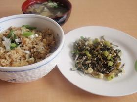 高菜いりこ佃煮&高菜炊き飯