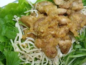 ご飯がススム~鶏肉おろしポン酢和え