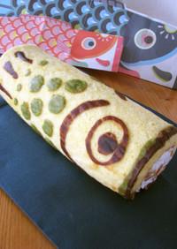 こどもの日*こいのぼりロールケーキ