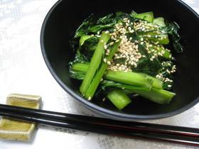 ♪小松菜のわさび漬け♪