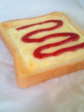 チーズケチャップトースト