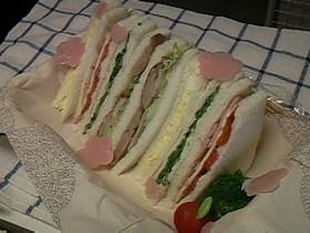 ☆ウキウキサンドイッチ4種類☆