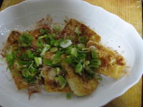 豆腐ステーキの中華風