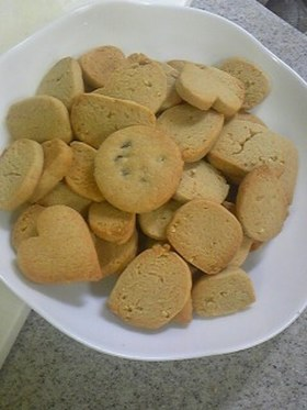 全粒粉ごまクッキー
