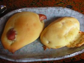 ホットケーキミックスで簡単!!プチパン☆