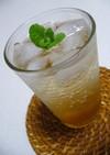 リンゴ酢×サイダーでさわやかドリンク