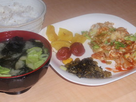 60円朝定食
