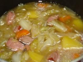 野菜たっぷりスープ(ポトフ)