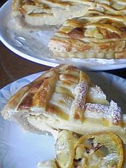 アーモンドレモンパイの写真