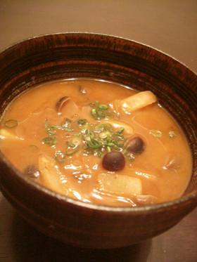 リメイク ポテトの味噌汁