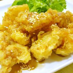 サクサク☆お肉やわらか鶏天ぷら