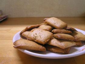 ぼりぼり胡麻クッキー