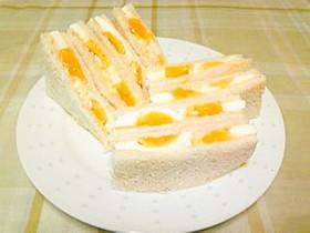 あの味そっくり!☆コンビニ風タマゴサンド