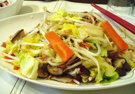 定番の野菜炒め