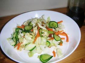 春キャベツの塩もみサラダ
