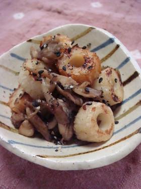 お弁当にどうぞ❤ 竹輪と舞茸のきんぴら風