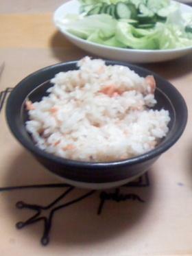 簡単鮭ご飯