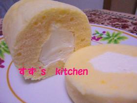 レンジ&タッパーde☆ロールケーキ