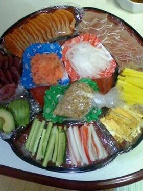 手が汚れない納豆手巻き寿司の方法♪