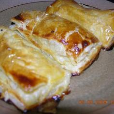 蓮根白菜パイシート包み焼き
