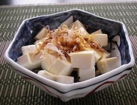 北斎丼 お豆腐だけでシンプルに