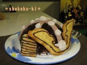 長男の初節句!兜ケーキ