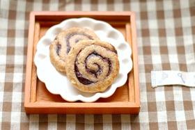 米粉の渦巻きクッキー