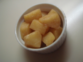 シンプル簡単リンゴソテー