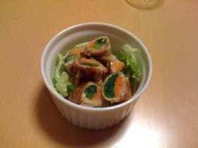 肉巻きサラダ