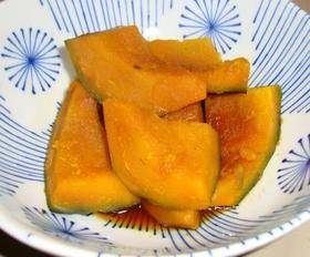 【簡単・かぼちゃの煮物】 砂糖と醤油だけ