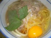 肉うどん(豚肉とたっぷり玉葱)の写真