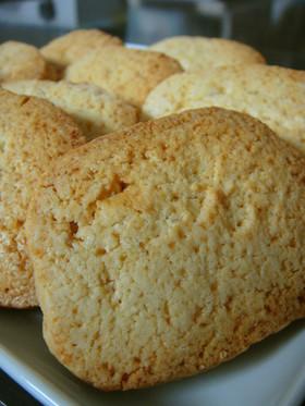 大人の杏仁風味クッキー♪