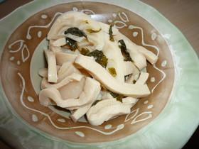 作り置きもOK!「高野豆腐と筍の煮物」