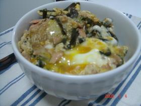 わらびとツナの卵丼☆