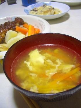 ☆コンソメスープ☆