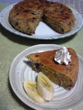 私の炊飯器ケーキ〝黒糖・バナナ・あずき〟