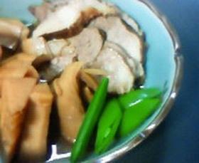 豚の紅茶煮~春野菜を添えて~