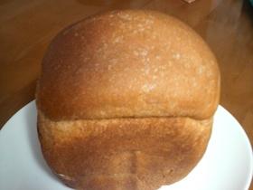 HBで黒糖ライ麦食パン