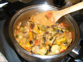 ラタトュイユ(夏野菜の煮込み)