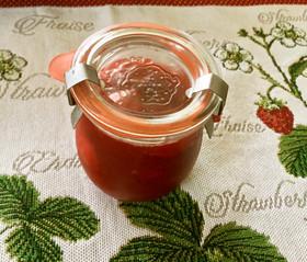 苺とルバーブのジャム・バニラの香り