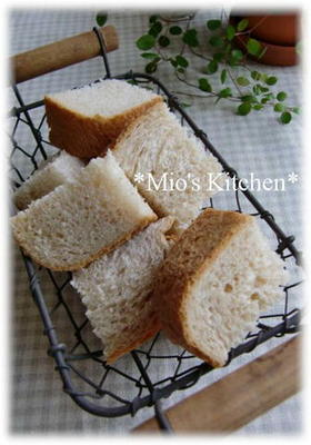 HB使用✿全粒粉でヘルシー食パン